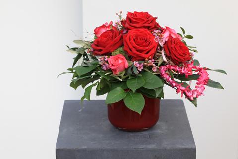 Rosen kommen  von Herzen