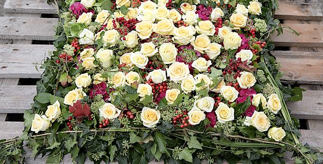 Blumenkissen
